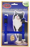 Harnais de Nylon Ajustable pour Chat Hunter Brand - Bleu
