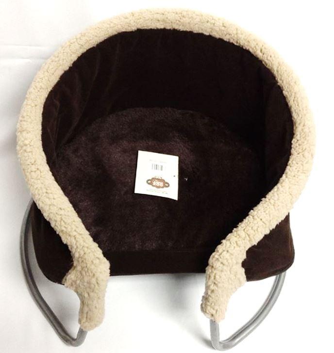 dana zoo lit suspendu brun pour animaux 20 animobouffe. Black Bedroom Furniture Sets. Home Design Ideas