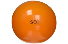 Grosse Balle Orbee Tuff Sol Orange pour Chien - Planet Dog