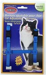 Harnais de Nylon Ajustable pour Chat Hunter Brand - Bleu Pâle