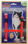 Harnais de Nylon Ajustable pour Chat Hunter Brand - Orange