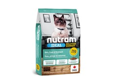 Nourriture pour Chats Sensibles au Poulet & Saumon - Nutram Ideal