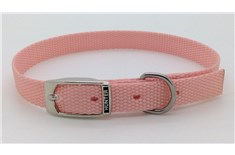 Collier de Nylon Rose Pâle pour Animaux - Hunter Brand