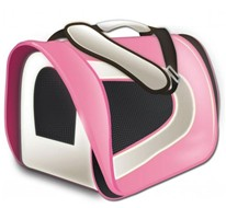 Tuff Carrier - Cage de Transport en Tissu - Rose
