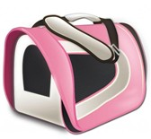 Cage de Transport en Tissu Tuff Carrier - Rose