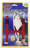 Harnais de Nylon Ajustable pour Chat Hunter Brand - Rouge
