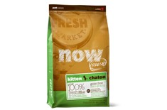 Nourriture pour Chatons Sans Grains - Now! Fresh