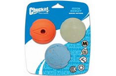 Medley Balles Assorties Fetch Games pour Chiens - Chuckit!