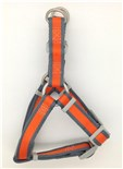 Harnais de Nylon pour Chien Pet Attire - Orange