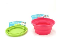 Bol Rétractable en Silicone pour Animaux - Messy Mutts