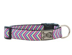 Rc Pets - Collier en Nylon Ajustable - Motifs en V