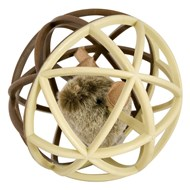 Play-N-Squeak - Grosse Balle Furry Fur pour Chat