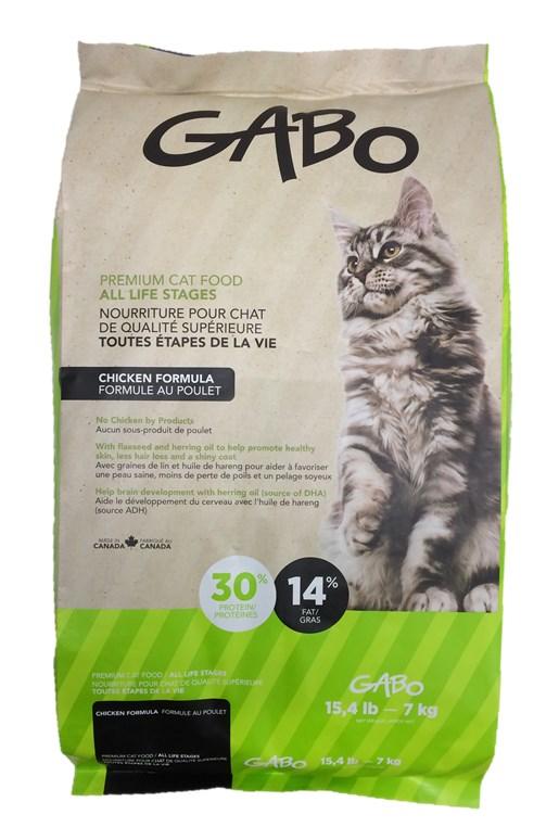 gabo - nourriture chats de tous Âges - poulet | animobouffe