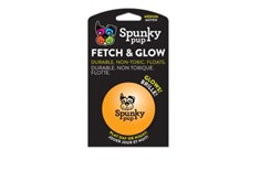Balle Orange Flottante Fetch and Glow - Spunky Pup