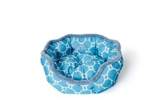 Coussin Rond Turquoise pour Petits Animaux - Büd'z