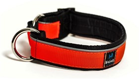 Nahak Sports - Collier en Nylon pour Chiens - Orange