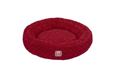 Lit Oval pour Animaux Rouge - Go Fresh Pet