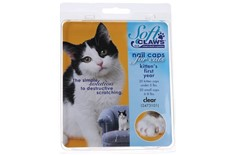 Protèges Griffes Transparent pour Chaton - Soft Claws