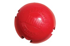 Balle Biscuit Ball Rouge pour Chiens - Kong