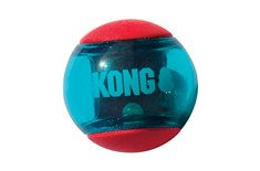 Balle Action Squeezz pour Chiens Rouge – Kong