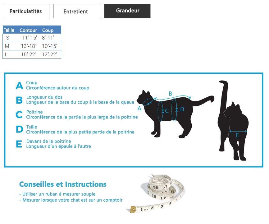 Rc Pets - Ensemble Harnais et Laisse de Marche pour Chats - Noir |  AnimObouffe