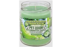 Chandelle Anti-Odeur Concombre Melon - Pet Odor