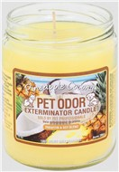 Pet Odor - Chandelle Anti-Odeur Ananas Et Coconut