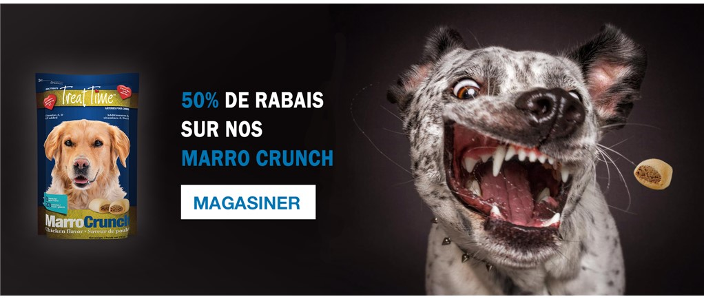 50% sur les biscuits Marro Crunch